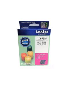 Brother LC 673 M Cartridge - Magenta