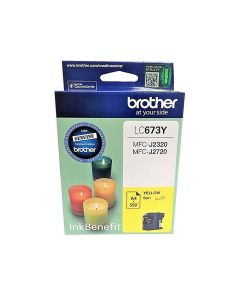 Brother LC 673 Y Cartridge - Yellow