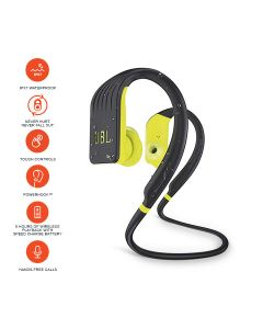 JBL Endurance Jump Waterproof Wireless Sport in-Ear Headphones with One-Touch Remote - Lime
