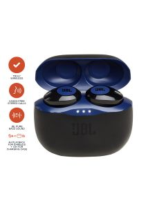 JBL TUNE 120TW Truly Wireless In-ear Headphones - Blue
