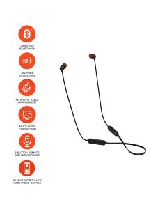JBL T115BT Wireless In-Ear Sport Earphone - Black