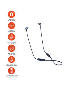 JBL T115BT Wireless In-Ear Sport Earphone - Blue