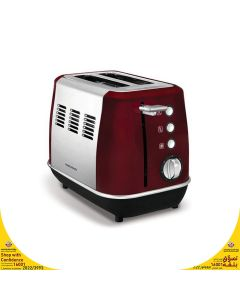 Morphy Richards 224408 2 Slice Bread Toaster - Red