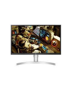 """LG 27UL550-W 27"""" Class 4K UHD IPS LED HDR Monitor with Ergonomic Stand"""