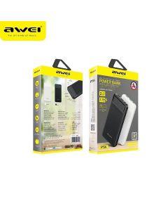 AWEI P5K 10,000mAh Portable Powerbank - Black