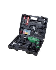 Hitachi DV13VST 13MM Impact Drill +  Accessories Set