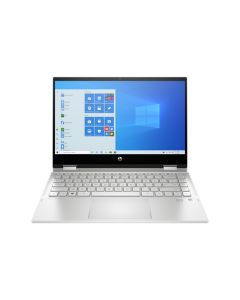 "HP Pavilion x360 Convertible 14-dw1000ne, Intel Core i3, 14"", 4GB RAM, 256GB , Windows 10 Laptop - Silver (30X59EA)"