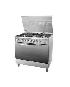Indesit I95T1C (X)EX 90x60 CMS 5 Burner Cooking Range