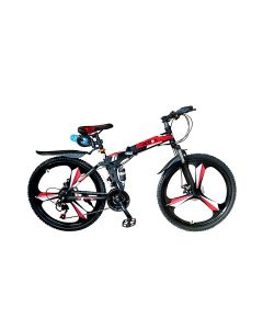 """Action Alloy Folding 26"""" Bicycle - 3500040-26"""