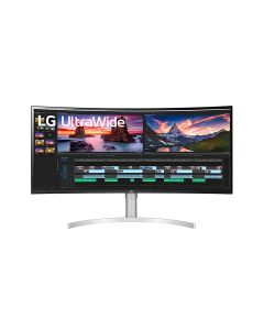 LG 38WN95C-W 38 Inch UltraWide QHD+ IPS Curved Monitor NVIDIA G-SYNC™ Compatibility