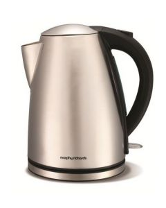 Morphy Richards 43615 Brushed Stainless Steel Jug Kettle 1.7Ltrs - Silver