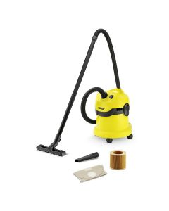 Karcher WD2 Wet and Dry 1000 Watts 12 Ltrs Vacuum Cleaner