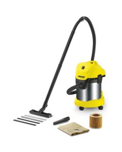 Karcher WD3 Premium Wet & Dry Steel Drum Vacuum Cleaner