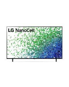 LG 55NANO80VPA NanoCell TV 55 Inch NANO80 Series Cinema Screen Design 4K Active HDR webOS Smart with ThinQ AI Local Dimming