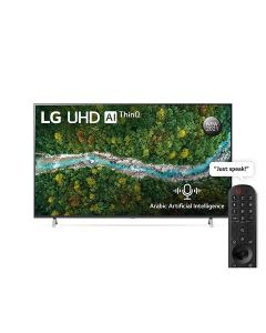 LG 55UP7750PVB UHD 55 Inch UP77 Series Cinema Screen Design 4K Active HDR webOS Smart with ThinQ AI