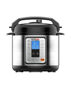 Nutricook NC-PR06 Smart Pot - 9 in 1 Electric Pressure Cooker, 6 Liters, 1000 Watts