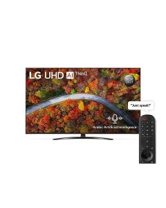 LG 65UP8150PVB UHD 65 Inch UP81 Series Cinema Screen Design 4K Active HDR webOS Smart with ThinQ AI