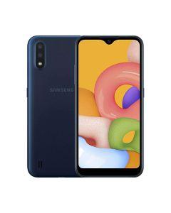 Samsung Galaxy A01 Core 16GB ROM/1GB RAM Smartphone - Blue (A013GZBDXSG)