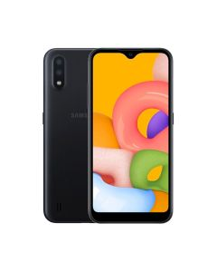 Samsung Galaxy A01 Core 16GB ROM/1GB RAM Smartphone - Black (A013GZKDXSG)