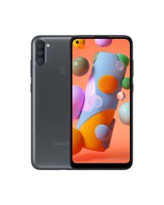 Samsung Galaxy A11 32GB ROM/2GB RAM Smartphone - Black (A115FZKDXSG)