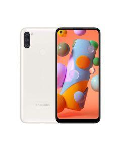 Samsung Galaxy A11 32GB ROM/2GB RAM Smartphone - White (A115FZWDXSG)