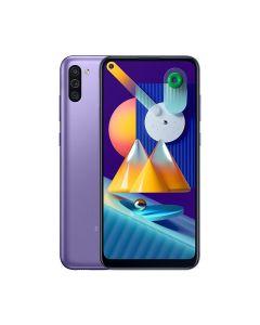 Samsung Galaxy M11 32GB ROM/3GB RAM Smartphone - Violet (M115FZLDXSG)