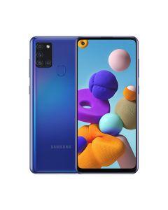 Samsung Galaxy A21S 64GB ROM/4GB RAM Smartphone - Blue (A217FZBGXSG)