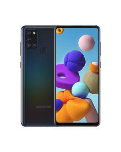 Samsung Galaxy A21S 64GB ROM/4GB RAM Smartphone - Black (A217FZKGXSG)