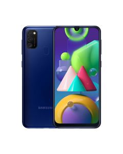 Samsung Galaxy M21 64GB ROM/4GB RAM Smartphone - Blue (M215FZBUXSG)