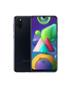 Samsung Galaxy M21 64GB ROM/4GB RAM Smartphone - Black (M215FZKUXSG)