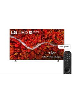 LG 75UP8050PVB UHD 75 Inch UP80 Series Cinema Screen Design 4K Active HDR webOS Smart with ThinQ AI