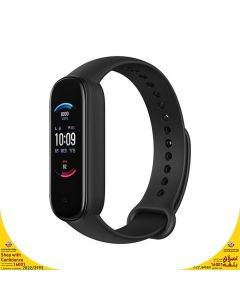 Amazfit Band 5 Fitness Tracker with Alexa Built-in - Midnight Black