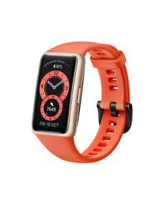 HUAWEI Band 6 Fitness Tracker Smartwatch - Amber Sunrise