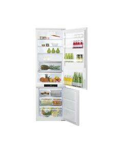Ariston BCB7030FEX Built-In Combi Refrigerator Bottom Freezer 282 Ltrs