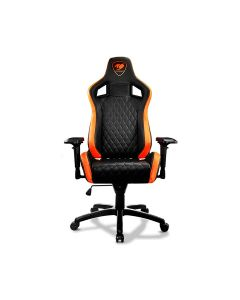 Cougar ARMOR S Gaming Chair Adjustable Design - Black/Orange