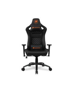 Cougar EXPLORE S Gaming Chair with Carbon Fiber Texture - Black