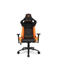 Cougar EXPLORE S Gaming Chair with Carbon Fiber Texture - Orange