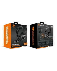 Cougar IMMERSA ESSENTIAL Gaming Headset - Black