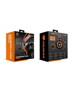 Cougar IMMERSA PRO Prix Gaming Headset with 7.1 Virtual Surround - Black