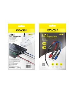 Awei CL-971 3-in-1 Multi Charging Data Cable