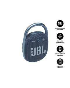 JBL CLIP 4 Ultra-Portable Waterproof Bluetooth Speaker - Blue