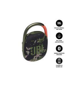 JBL CLIP 4 Ultra-Portable Waterproof Bluetooth Speaker - Squad