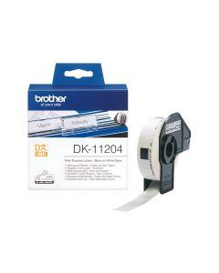 Brother DK 11204 Die Cut Roll
