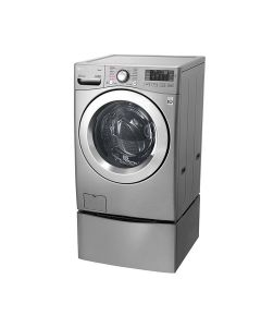 LG TWINWash™, Washer & Dryer, 21.5 / 10 Kg, 6 Motion Direct Drive, TurboWash360, Steam™, ThinQ (F18L2CRV2T2_F70E1UDNK12)