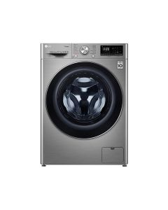 LG F4V5RGP2T Washer & Dryer, 10/7 Kg, Bigger Capacity, AI DD, Steam, ThinQ
