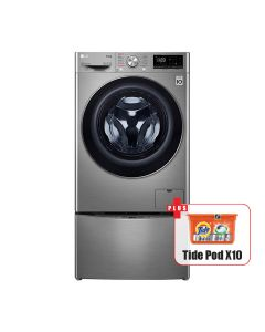 LG TWINWASH™ Washer & Dryer F4V5RGP2T 12kg / 7Kg Washer Dryer