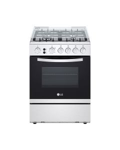LG FA211RMA 60x60  4 Burner Full Gas  Cooking Range Full Safety Stainless Steel Finish with Cast Iron Trivet With Rotisserie