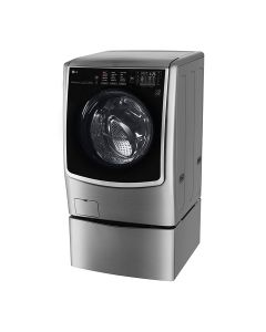 LG TWINWash™ , Washer & Dryer, 24.5 / 12 Kg, 6 Motion Direct Drive, TrueSteam™, ThinQ  (FH0C9CDHK72_F70E1UDNK12)