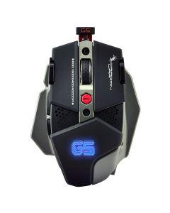 Dragon War G5 Gaming Mouse Warlord 4,000 DPI - Black
