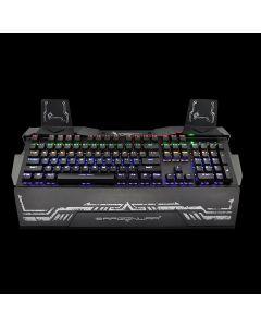 Dragon War GK-010 Gaming Keyboard Steel Wing Optical Switch with RGB - Black
